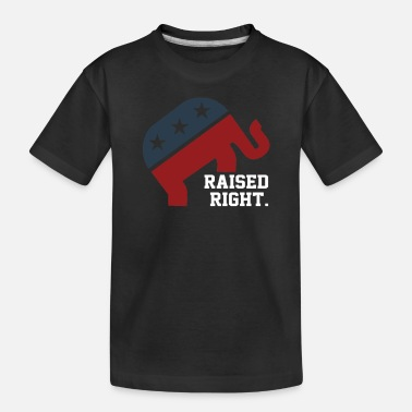 Right Raised Right - Toddler Organic T-Shirt
