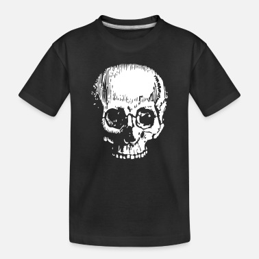 Large Large Skull - Toddler Organic T-Shirt