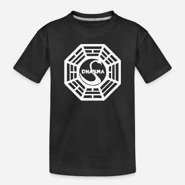 Initial Dharma Initiative - Toddler Organic T-Shirt