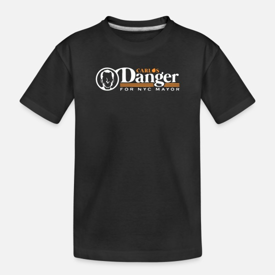 Game Baby Clothing - Carlos Danger - Toddler Organic T-Shirt black