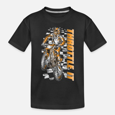 Motocross Motocross Throttle It Org - Toddler Organic T-Shirt