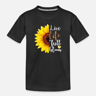 Flora Live Life in Full Bloom - Toddler Organic T-Shirt