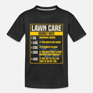 Care Lawn Care Specialist - Toddler Organic T-Shirt