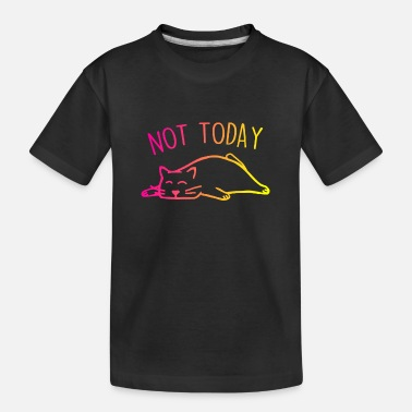 Neon CHILLOUT CAT - Toddler Organic T-Shirt