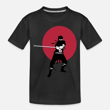 Samurai Japanese Ninja Samurai Warrior - Toddler Organic T-Shirt