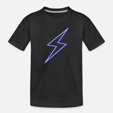 Power Thunderbolt - Power - Flash - Toddler Organic T-Shirt