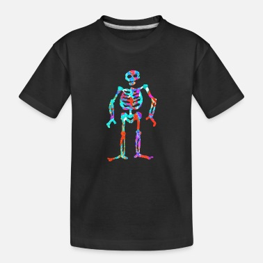 Neon artTS ELECTRIC NEON SKELETON multi - Toddler Organic T-Shirt