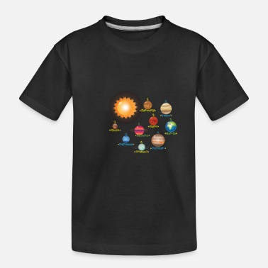 Planet Solar System Planets Science | Educational - Toddler Organic T-Shirt
