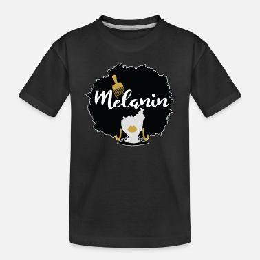 Afro Afro Hair Melanin Woman - Toddler Organic T-Shirt