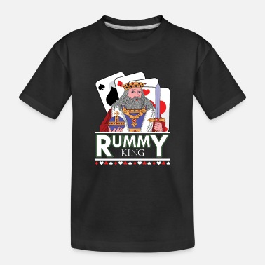 Rummy Rummy King Card Deck - Toddler Organic T-Shirt
