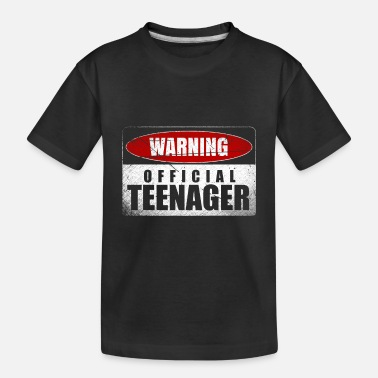 Teenager teenager - Toddler Organic T-Shirt