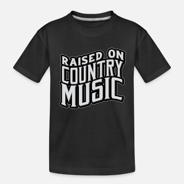 Country Country Music - Toddler Organic T-Shirt
