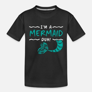 Creature Mermaid - Toddler Organic T-Shirt