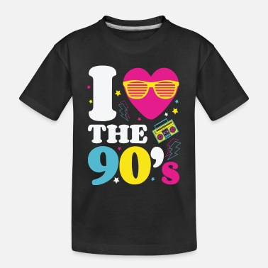 90s 90s 90s Fashion 90s Music 90s Party - Toddler Organic T-Shirt