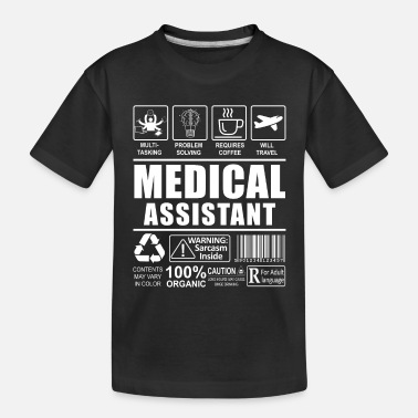 Cma Cma Medical Assistant Gift Idea - Toddler Organic T-Shirt