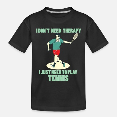 Tennis Match Tennis tennis racket tennisball tennis match - Toddler Organic T-Shirt