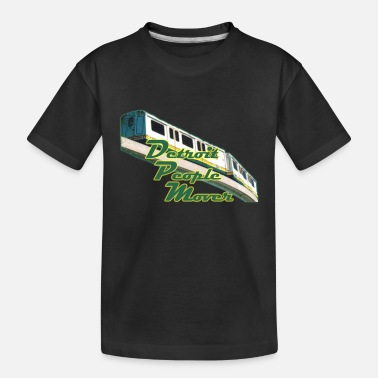 Detroit Detroit People Mover Old School - Toddler Organic T-Shirt