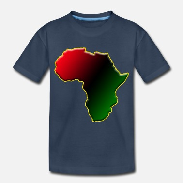 Map I African - Toddler Organic T-Shirt