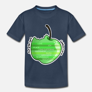 Spirit Apple - Fruit of the Spirit - Toddler Organic T-Shirt