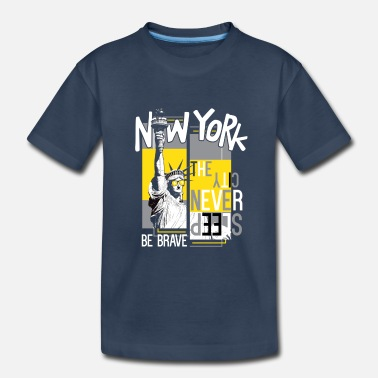 Nyc nyc - Toddler Organic T-Shirt