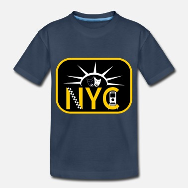 Nyc New York City - Toddler Organic T-Shirt