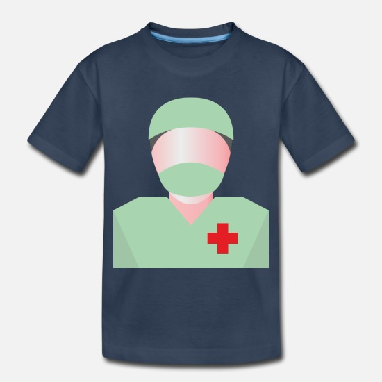 Surgeon Baby Clothing - surgeon - Toddler Organic T-Shirt navy