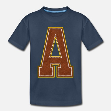 Letter A - Toddler Organic T-Shirt