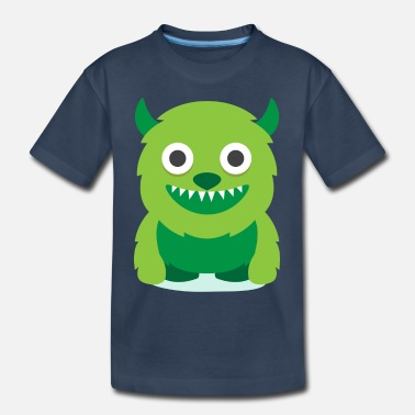 Monster Cute Monster - Toddler Organic T-Shirt
