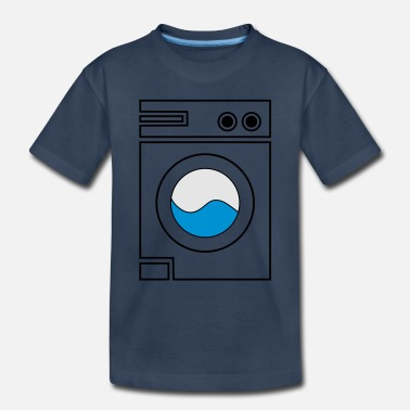 Machine washing machine - Toddler Organic T-Shirt