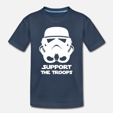 Support The Troops SUPPORT THE TROOPS - Toddler Organic T-Shirt