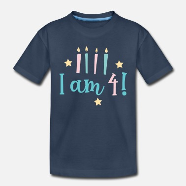 4th Birthday 4th birthday - Toddler Organic T-Shirt