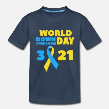 Down World Down Syndrome Awareness Day - Toddler Organic T-Shirt