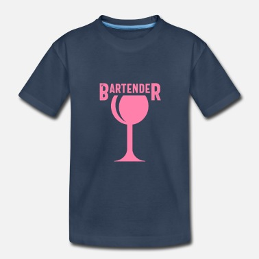 Bar Pub Barkeeper Barwoman Bartender Barman Bar Pub - Toddler Organic T-Shirt