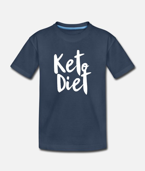 Bless You Baby T-Shirts - Keto Diet - Toddler Organic T-Shirt navy