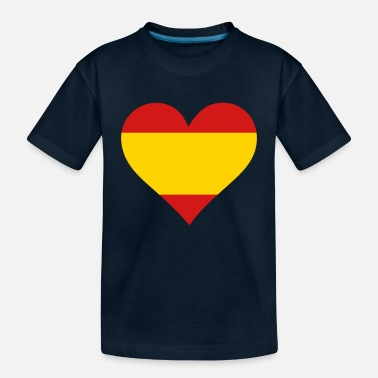 Quijote A Heart For Spain - Toddler Organic T-Shirt