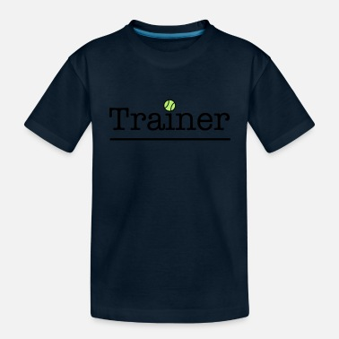 Tennis Trainer tennis trainer - Toddler Organic T-Shirt