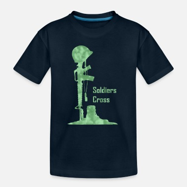 Mystic Cross Soldiers Cross - Toddler Organic T-Shirt