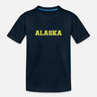 Us State Alaska - US - State - United States of America - Toddler Organic T-Shirt