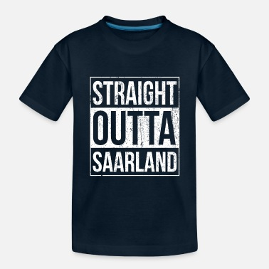 Saarbrücken Saarland Retro Vintage Design - Toddler Organic T-Shirt