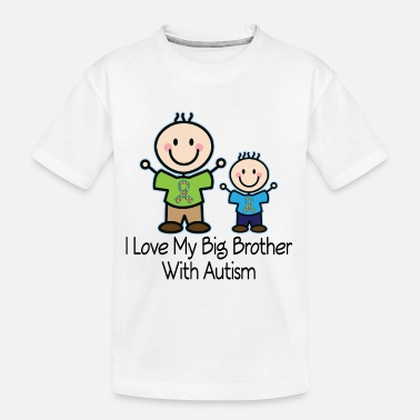 Family Awareness Autism Awareness Big Brother - Kid's Organic T-Shirt