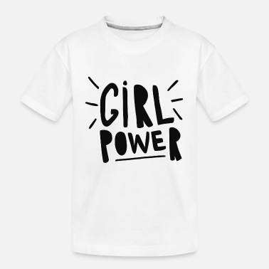 Power girl power - Kid's Organic T-Shirt
