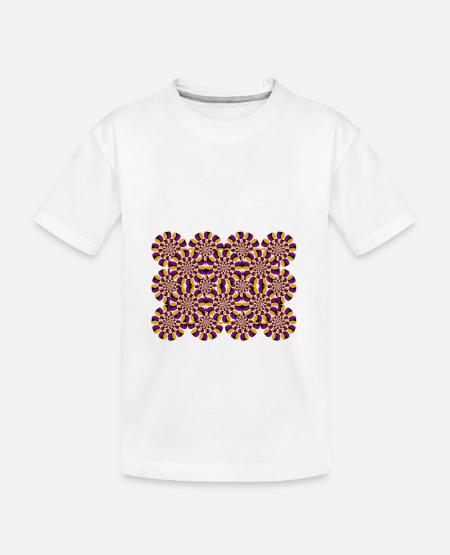 Perspective T-Shirts - illusion - Kid's Organic T-Shirt white
