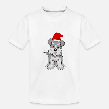 Schnauzer Dog 2 - Kid's Organic T-Shirt