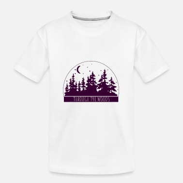Recreational Woods Travel Adventure Hiking Camping Gift - Kid's Organic T-Shirt