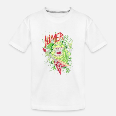 Ghost SLIMER THRASHIN' MAD!!! - Kid's Organic T-Shirt