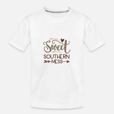 Rodeo Sweet Southern mess - Kid's Organic T-Shirt