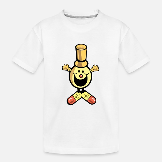 Caricature T-Shirts - toy - Kid's Organic T-Shirt white