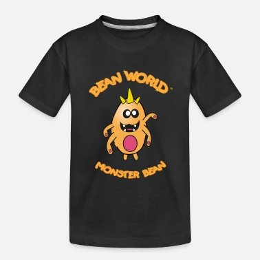 Bean Monster Bean World - Monster Bean - Kid's Organic T-Shirt
