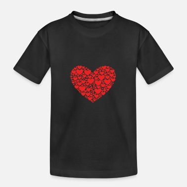 Heart Heart in heart - Kid's Organic T-Shirt