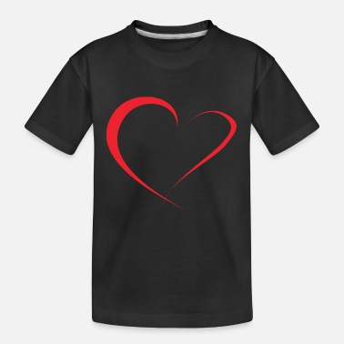 Red Heart red heart - Kid's Organic T-Shirt